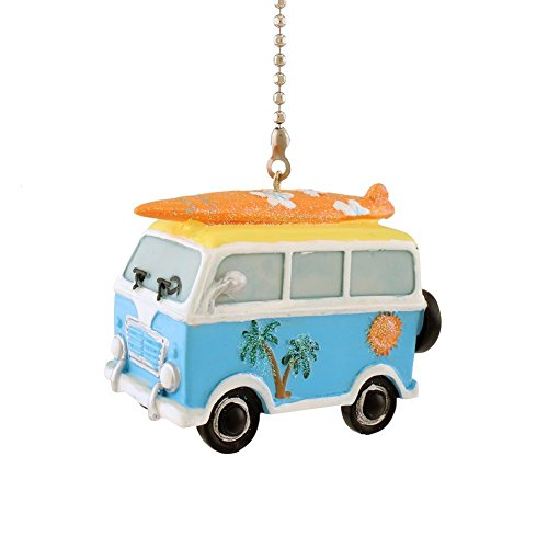 WeeZ Industries Retro Surfer Beach Van with (Fan Bus)