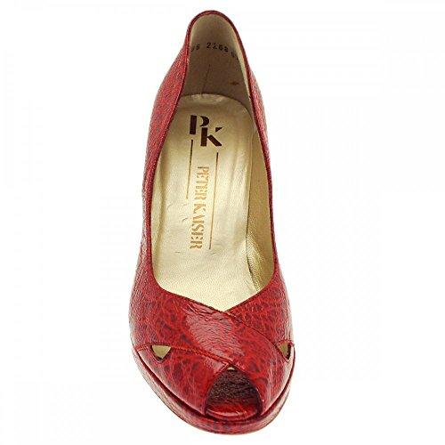 Tacón Con Zapatos Mujer Red Kaiser Peter f8qEx7wtw