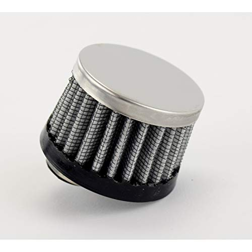 Compatible with Dune Buggy Oil Breather Filter With Offset 1//2 Inlet