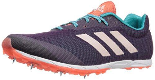 adidas Women's XCS w Running Shoe, Red Night/Ice Pink/Energy Blue, 9 Medium...