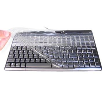 Amazon.com: Cherry kbcv-7000 W plástico cubierta de teclado ...