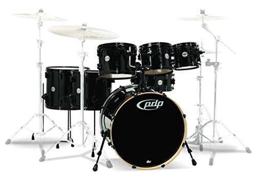 PDP By DW PDCM2217PB 7-Piece Concept Maple Shell Pack wit...