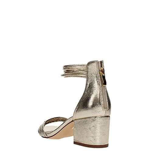 Sandali Caf Noir Ld943 Scarpe Da Donna Con Accessori In Argento 2400 Platino