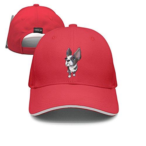 lsawdas 22 Boston Terrier Sandwich Cap Sports Caps (Womens Cap Terrier)