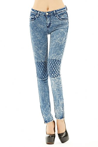 WEIYAN-Womens-Slim-Punk-Stretch-Pants-Jeans