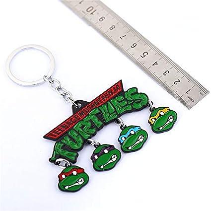 Adolescente Mutante Ninja Tortugas Llavero Hombres Llaveros ...