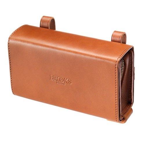 Brooks Saddles D-Shaped Tool Bag (Honey) (Brooks Bag)