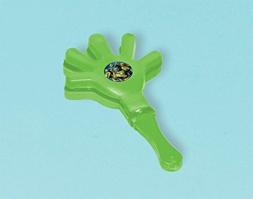 Amscan Awesome TMNT Hand Clapper Noisemaker, Green by Amscan