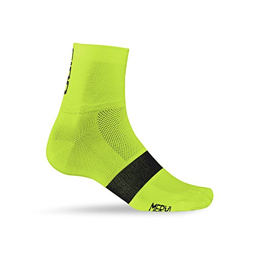Giro Classic Racer Socks Highlight Yellow/Black, XL - - Cycling Socks