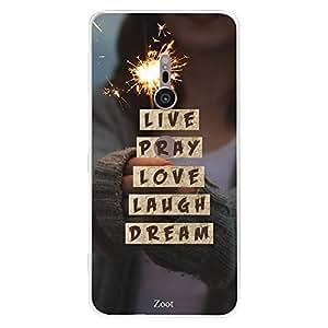 SONY XZ2 Live Pray Love Laugh Dream