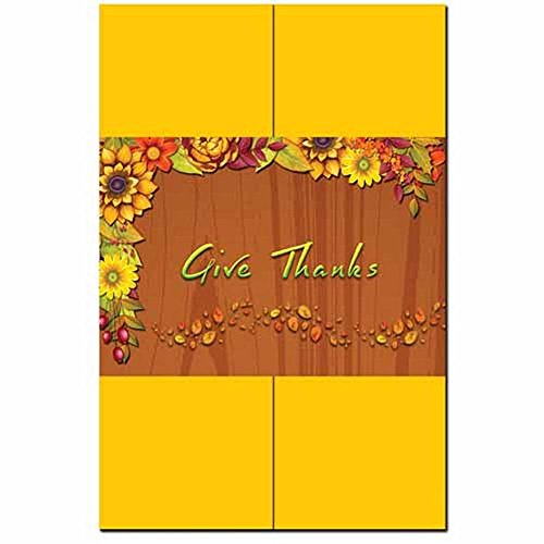 Harvest Garland Invitation Kit - 100 Pack by ISO