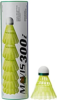 Yonex Mavis 300i Nylon Badminton Nylon Shuttlecock (Green) Badminton Nylon Shuttlecock at amazon