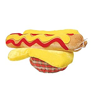Funny Party Hats Costume Hats - Funny Hats - Food Hats - Hot Dog Hat by