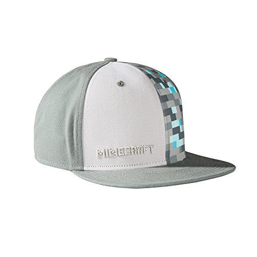 Minecraft - Diamond Adjustable Hat Grey
