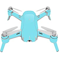 Skin For Yuneec Breeze 4K Drone – Solid Baby Blue | MightySkins Protective, Durable, and Unique Vinyl Decal wrap cover | Easy To Apply, Remove, and Change Styles | Made in the USA