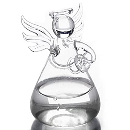 Amazon Toogoor Praying Angel Vases Crystal Transparent Glass