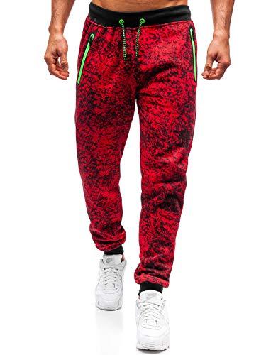 Sport Style Jogging Sportif Red Training Pantalons Motif Imprimé Bolf 6f6 Fireball 55055 Rouge De EqfBZxg