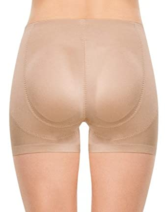 2deec82be Spanx Womens Nude Slimplicity Booty Booster Shorts: Amazon.co.uk: Clothing