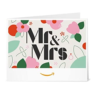 Amazon Gift Card - Print - Mr&Mrs (B01EZEI9RC) | Amazon price tracker / tracking, Amazon price history charts, Amazon price watches, Amazon price drop alerts