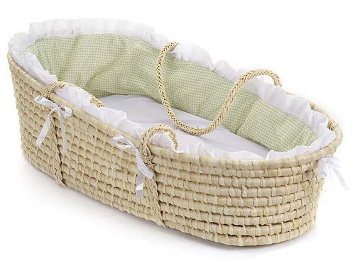 - Baby Moses Basket with Liner, Sheet, and Pad