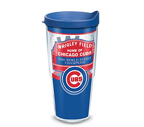 - Chicago Cubs Marquee Tervis Tumbler with Lid, 24oz MLB