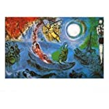 Buyartforless The Concert by Marc Chagall 16x20 Art Print Poster