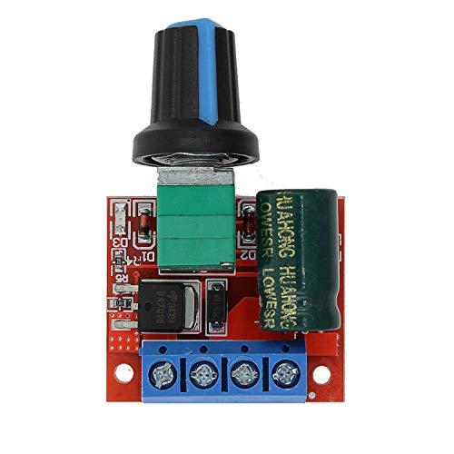 Dig Dog Bone LDTR-WG0203 Mini DC 4.5V-35V 5A 90W PWM DC Motor Speed Controller Module Speed Regulator Control Adjust Adjustable Board Switch Speed Controller