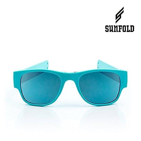 Sunfold Pastel Lunettes de soleil roulant, homme Taille unique bleu