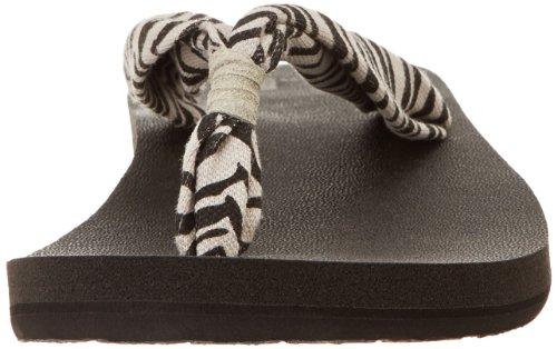 Sanuk Mujer Yoga Slinger Flip-Flop Cebra