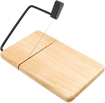 Prodyne 805b Thick Beech Wood Cheese Slicer 0