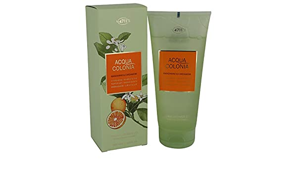 Amazon.com : 4711 Acqua Colonia Mandarine & Cardamom by Maurer & Wirtz 6.8 oz Shower gel for Women 100% Authentic : Beauty