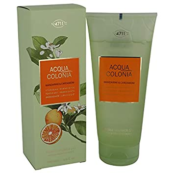 4711 Acqua Colonia Mandarine & Cardamom by Maurer & Wirtz 6.8 oz Shower gel for Women