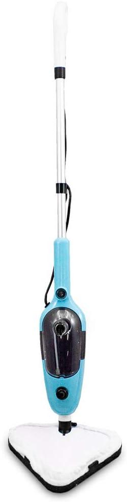BITUXX 1300W Dampfreiniger Dampfbesen 10 in 1 Multifunktions Reiniger Dampf Mop inkl verschiendene D/üsen