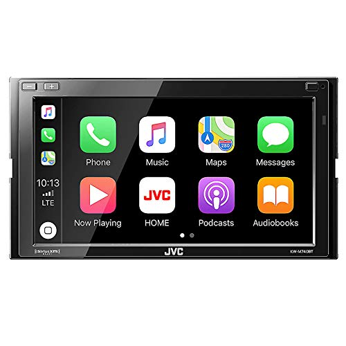 JVC KW-M740BT Apple CarPlay, Android Auto 2-DIN AV Receiver (No CD ()