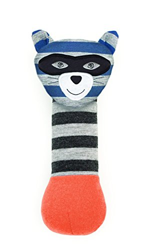 (Organic Farm Buddies, Robbie Raccoon Squeaky Toy)