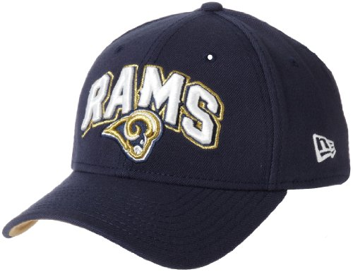 [NFL St. Louis Rams Draft 3930 Cap, Blue, Large/X-Large] (Rams Draft)