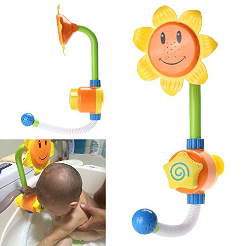 (GonPi   Bath Toys  1 Piece Baby Bath Toys Children Whirly Wand Cup Swim Play Toy Swimming Beach Scoop Water Rotating Cylinder Flow Cup Child Bathing Toys)