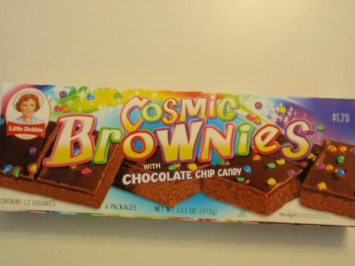 Little Debbie Cosmic Brownies, 12 in Box, 2 Box Pack