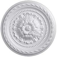 Rosetón de poliestireno, decoración original y elegante
