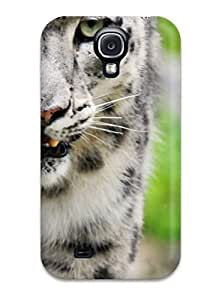 Defender Case With Nice Appearance (amazing White Tiger) For Galaxy S4