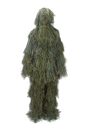 CAN-DOO Ghillie Suit Woodland (Gilly Suits For Kids)