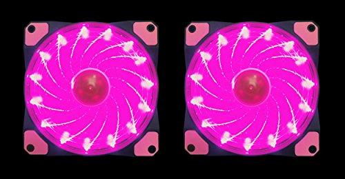 Pink Led Fan Lights - 2