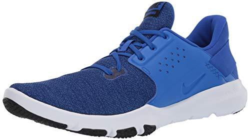 Nike Men's Flex Control TR3 Sneaker Racer Black-deep Royal Blue