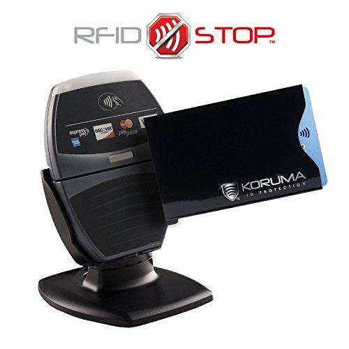 Koruma RFID / NFC Protector para tarjetas de crédito (70BLS 2): Amazon.es: Bricolaje y herramientas