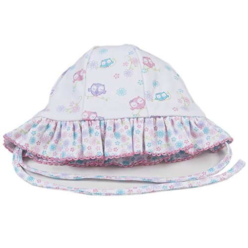 Kissy Kissy Baby Girls What A Hoot Reversible Floppy Hat-Large ()