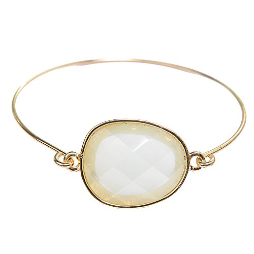 Gemma Gemstone Bracelet - Mint