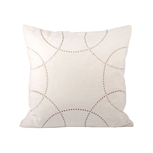 Traditional Décor Collection Perla Pillow 20X20-Inch