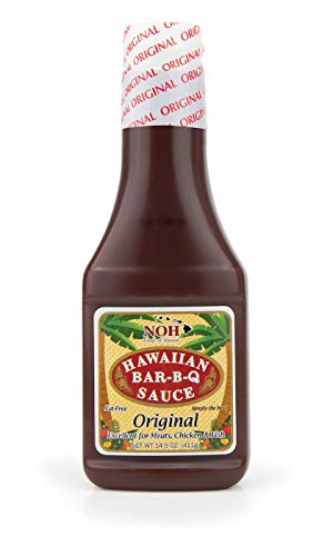 NOH Foods of Hawaii Bar-B-Q Sauce Original, 14.5 Ounce (Pack of 6)