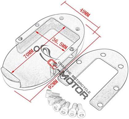 Skull Brake Pedal Pad Cover Reservoir Cap For Harley Sportster XL ...