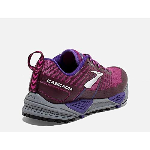 Multicolore De Cascadia purple 531 Femme Chaussures 13 Cross aster fig Brooks 1HBYqfcdq